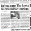 Dental care is the last Buzzword for Tourism